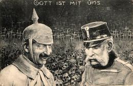 Propagande Française. Gott Est Mit Uns - War 1914-18