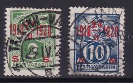 Estonie République YT*+° 91-95 - Estonia