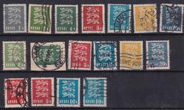 Estonie République YT*+° 97-109 - Estonia