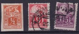Estonie République YT*+° 49-59 - Estonia