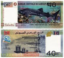 DJIBOUTI 40 FRANCS 2017 P 46 - UNC - Djibouti