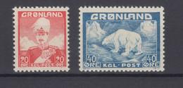 Greenland 1946 - Michel 26-27 MNH ** - Ungebraucht
