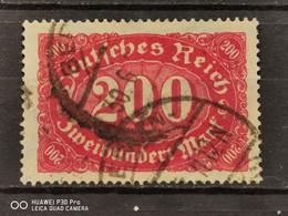 Deutsche Reich Mi-Nr. 248 C Gestempelt Geprüft KW 35 € - Infla