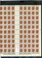 TIMBRES FRANCE REF080521mi, FEUILLE COMPLETE N° 999 - Ganze Bögen