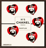 "2021  Feuillet  ""N° 5 De Chanel""  Neuf**   (faciale: 5.40€) - Mint/Hinged"