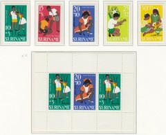 Suriname, Jaargang 1967,  Postfris - Surinam ... - 1975