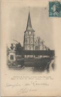 CPA - Environs  De Louviers -  - L'Église - Saint-Aubin-d'Ecrosville