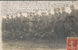 Carte-photo - Prés De Saint Clair - Repos Après Des Tirs De Guerre 1913 - Andere Gemeenten