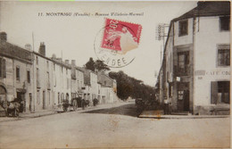 CPA Montaigu Avenue Villebois-Mareuil   (C 538b) - Montaigu