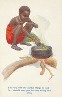 AFRICA -  Sono Impegnato Con La Preparazione Della Cena .... - - Unclassified