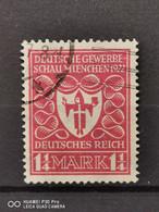 Deutsche Reich Mi-Nr. 199 D Gestempelt Geprüft KW-50€ - Infla