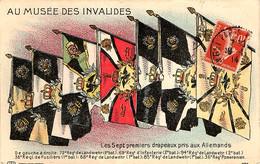 Drapeau Pris Aux Allemands. Les Sept Premiers Drapeaux - War 1914-18