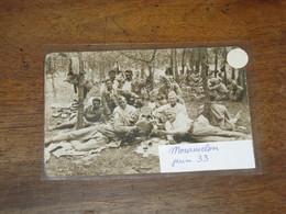 Manoeuvre Du Camp De MOURMELON Juin 1933 - Manoeuvres