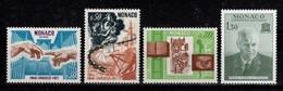 Monaco - YV 855 à 858 N** Complete UNESCO Cote 2,90 Euros - Unused Stamps