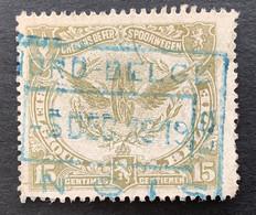 TR59 - Gestempeld NORD BELGE ENGIS - 1915-1921