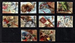 Great Britain 1992 Memories - Greetings Set Of 10 Used - Used Stamps