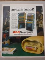 # ADVERTISING PUBBLICITA'  RCA STEREONASTRI - 1973 - Publicités