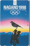 BIRDS - JAPAN - V813 - NAGANO 1998 OLYMPIC GAMES - Other