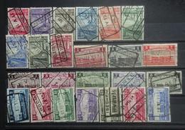 BELGIE   Spoorwegen  1935     TR 178 - 202    Gestempeld    CW 110,00 - 1923-1941