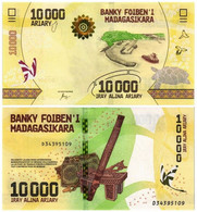 MADAGASCAR 10000 ARIARY 2017 P 103 - UNC - Madagascar