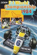 F. 1 - Monza 1984 - Williams Racing Team - H7512 - Grand Prix / F1