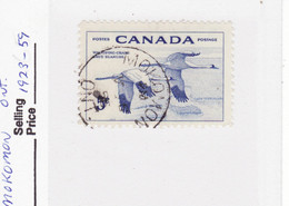 4556) Postmark Cancel CDS SON Closed Ontario - Used Stamps