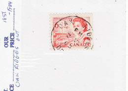 4557) Postmark Cancel CDS SON Closed Ontario - Used Stamps