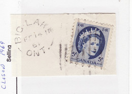 4562) Postmark Cancel CDS SON Closed Ontario - Used Stamps