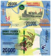 MADAGASCAR 20000 ARIARY 2017 P 104 - UNC - Madagascar