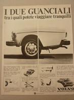 #  ADVERTISING PUBBLICITA' VOLVO  I DUE GUANCIALI - 1973 - Publicités