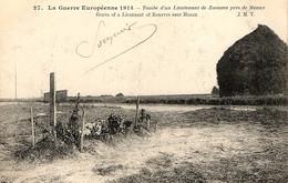 Tombe D'un Lieutenant De Zouaves Près De Meaux - War Cemeteries