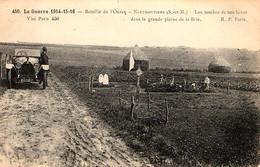 Tombes De Soldats Français Dans La Plaine De Brie - War Cemeteries