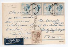 - Carte Postale YOZGAT (Turquie) Pour MONT-SAINT-AIGNAN 17.7.1966 - Bel Affranchissement Philatélique - - Covers & Documents