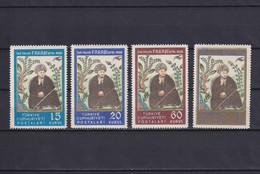 TURKEY 1950, Mi# 1266-1269, Personalities, Art, MNH - Unused Stamps