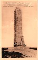 Chemin Des Dames, Monument à La 36e DI (2 Cartes) - War Memorials