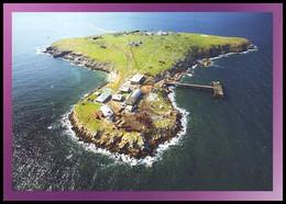 "UKRAINE. SNAKE ISLAND (''ZMEINY OSTRIV"") IN THE BLACK SEA, Aerial View. Unused Postcard - Oekraïne"