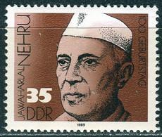 DDR - Mi 3284 ✶✶ #  - 35Pf       100. Geburtstag Dschawaharlal Nehru - Neufs