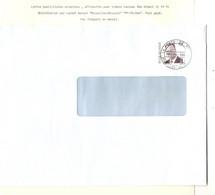 """4REF/ TP R84 Albert II S/L. Avec Contenu Publicitaire C.BXL-Brussel PP-PB-B66 """"Port Payé MANUEL Pas Courant > BXL - Covers & Documents"""