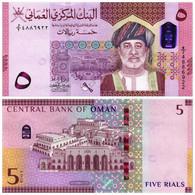 OMAN 5 RIAL 2020 (2021) P NEW - UNC - Oman