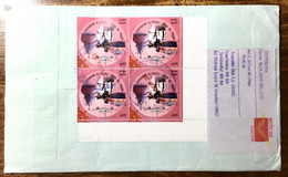 India Registered Used Cvr Covid Covid-19 Corona Salute To Health Workers / Pandemic Health Disease Virus - Krankheiten