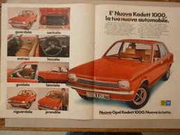# ADVERTISING PUBBLICITA' OPEL KADETT 1000 NUOVA IN TUTTO - 1973 - Publicités