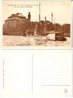 DE - Unterseeboot  U1  Und Torpedoboot  D10    (belle Carte-non Circulée) - Unclassified