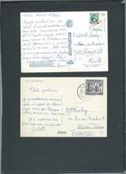 Lot De  Cartes Postales Plus  Lsc Affranchies Pour La France à étudier - Mala 88 - 1971-80 Briefe U. Dokumente