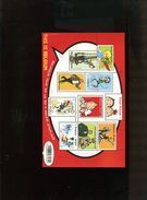 Belgie 2013 Blok Feuillet BL201 Tintin Bd Comics Strips Smurfs Perforated   MNH - Blocks & Kleinbögen 1962-....