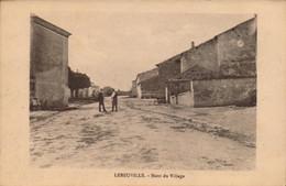 LEBEUVILLE.  Cpa. - Haut Du Village .  (scans Recto-verso) - Autres Communes