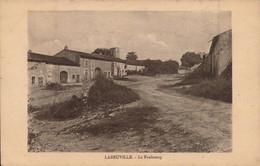 LEBEUVILLE.  Cpa. - Le Faubourg .  (scans Recto-verso) - Autres Communes