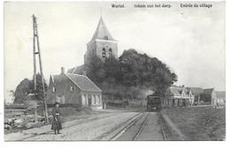 Wortel - Inkom Van Het Dorp - Stoomtram. - Hoogstraten