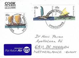 Cook Islands 2021 Rarotonga Catamaran Sailing Ships Cover - Cook Islands