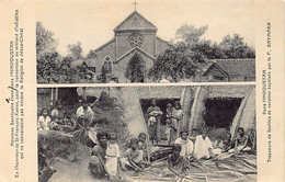 INDIA - Diocese Of Coimbatore - Tamil Nadu - Father Gaymard And The New Sanctuary Of St. François Xavier - Natives Weavi - Inde