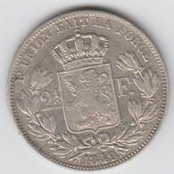 2 1/2 Frank / 2,5 Frank Van 1849. - 10. 2 1/2 Franco
